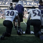 Baltimore Ravens Take Practice In Annapolis