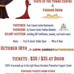 Taste Of The Towne Centre And Fashion Show