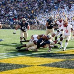 Navy Football Finds The First Win Of Season