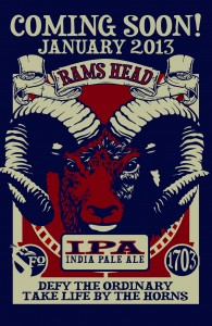 Rams Head IPA Beer
