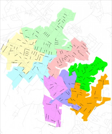 Annapolis Ward Map
