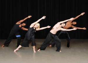 "Dancers from the AACC Dance Company strike a pose from one of the dances being performed in ""Flying By the Seat of Our Pants,"" celebrating the company's 25th anniversary. Performances are at 8 p.m. Dec. 5-7, all in the Robert E. Kauffman Theater of the Pascal Center for Performing Arts on AACC's Arnold campus."