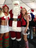 Santa Speedo Run 2013 4