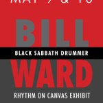 Black Sabbath drummer, Bill Ward, to appear at Annapolis Collection Gallery (May 9-10, 2014)