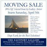 Eastport Gallery to move out of Annapolis (April 5-30, 2014)