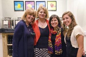 Left to Right… Lucia Pinelli, Saleta Cameron, Sharon Simon, Jessica Paholsky  (Courtesy photo)