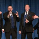 Annapolis barbershop quartet competing in world championships
