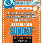 O'Briens introduces most difficult to spell game on Sunday nights