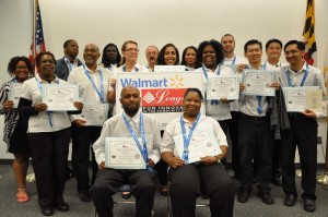 Anne Arundel Community College recently recognized the students who completed casino dealer training through a grant from the Walmart Brighter Futures 2.0 Project, provided by the Walmart Foundation to the League for Innovation in the Community College.