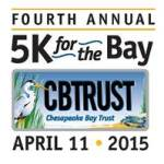 4th Annual 5K for the Bay scheduled for April 11th