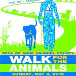 Still time to register online for SPCA's Walk for the Animals