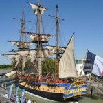 First Sunday to celebrate the French and the frigate Hermione