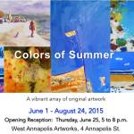 West Annapolis Artworks: Colors of Summer