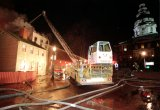 A 5-alarm fire destroys Zachary's Jewelers