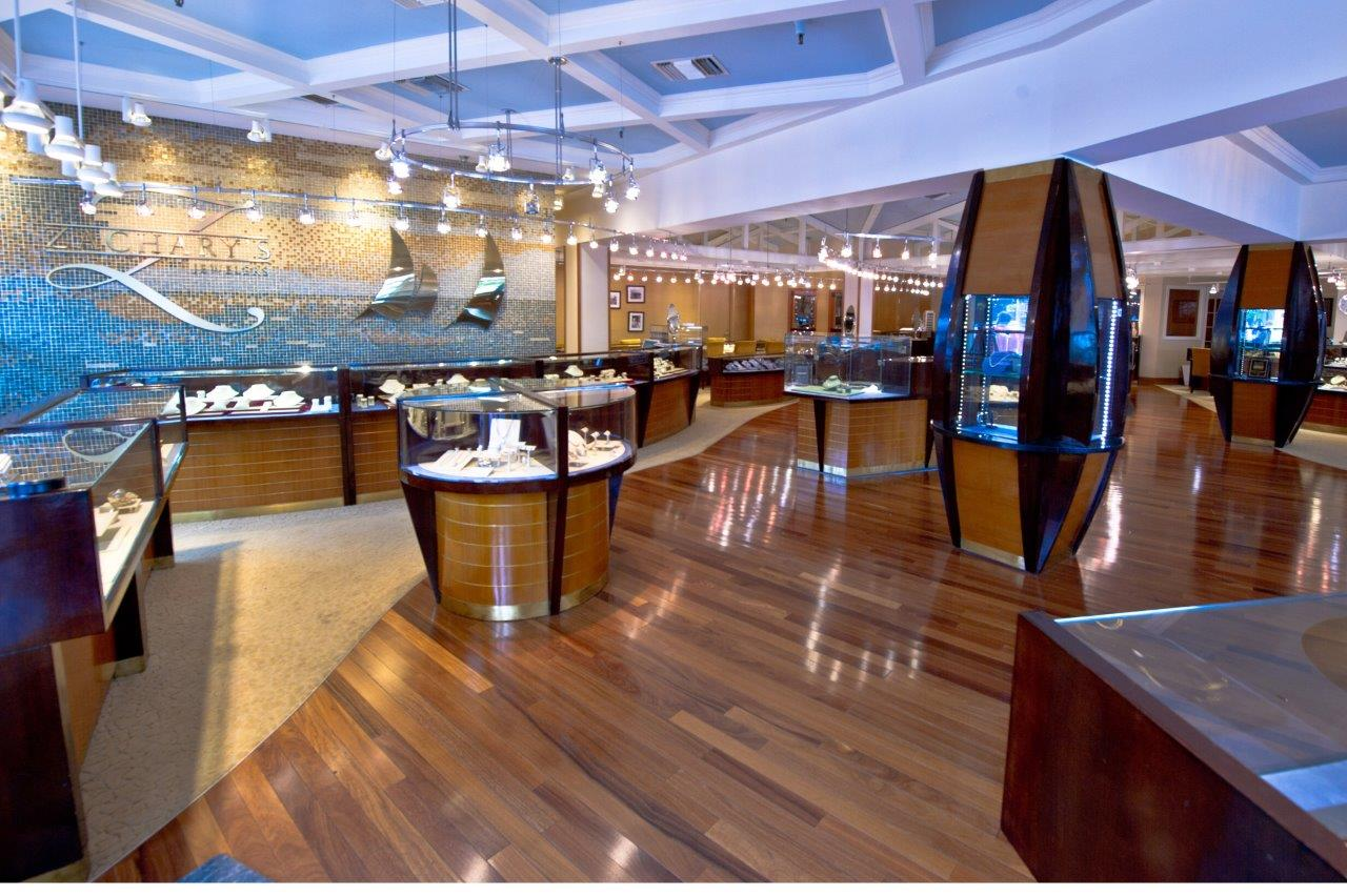 Zachary's Jewelers Annapolis Interior Front View