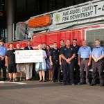 Anne Arundel professional firefighters support men's health awareness