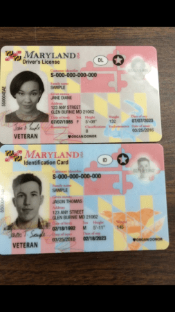 Unveils New Driver's Eye On Mva Licenses Maryland Annapolis