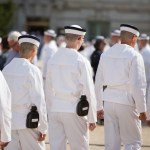 1184 Plebes, Class of 2020, take Oath of Office in Tecumseh Court