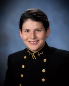 Midshipman 1st Class (senior) Lucy Ford