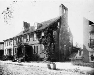 The Peggy Stewart House (Collection of the Maryland State Archives)