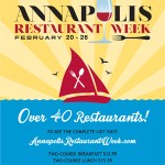 Foodies rejoice!  Annapolis Restaurant Week is on the horizon