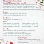 Muddy Creek Artist's Guild's Holiday Art Show & Sale