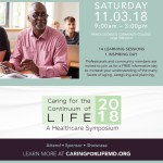 Caring for the Continuum of Life: A 2018 Healthcare Symposium