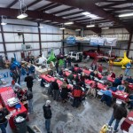 Chesapeake Sport Pilots bring a little Christmas to Tangier Island