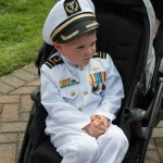 USNA Commissioning Week:  2019 Color Parade honors Midshipman's mother