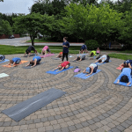 Yoga on the Labyrinth
