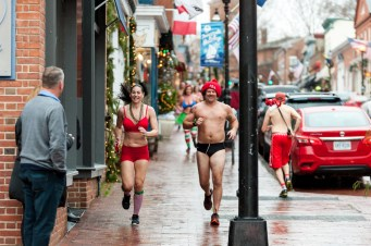 Santa Speedo Run 2019