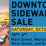 Sidewalk Sale this Saturday in Downtown Annapolis