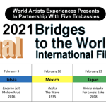 World Artists Experiences presents 13th Annual Bridges to the World Int'l Film Festival