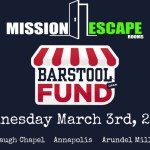 Mission Escape Rooms to Donate All March 3rd Sales to the Barstool Fund