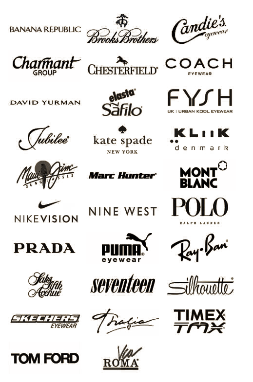 Eyewear Brands at EyeOne