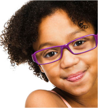 Child Wearing Glasses