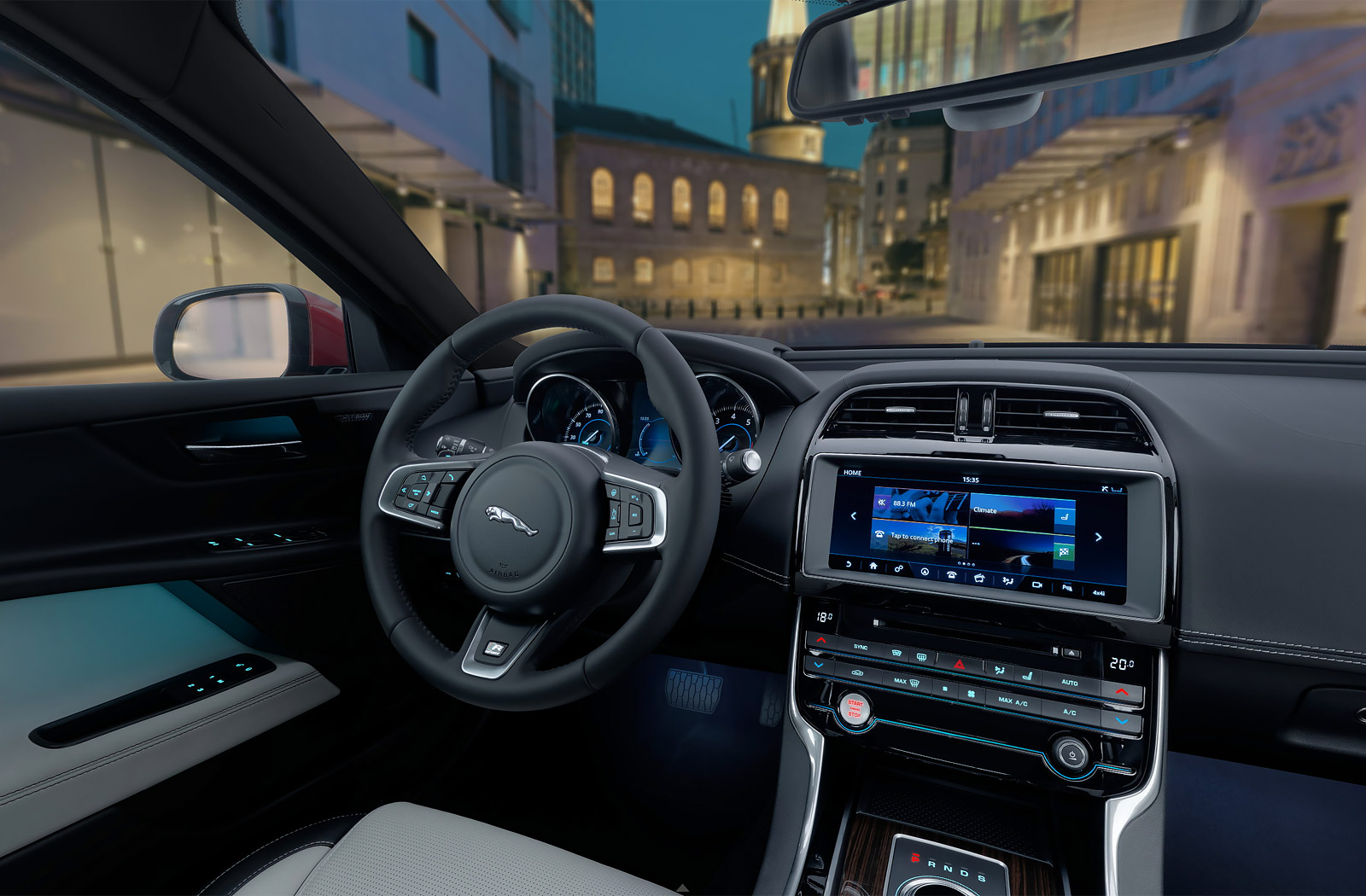 Jaguar XE Car Interior 360 Interactive   EYEREVOLUTION Jaguar XE Car Interior 360 Interactive