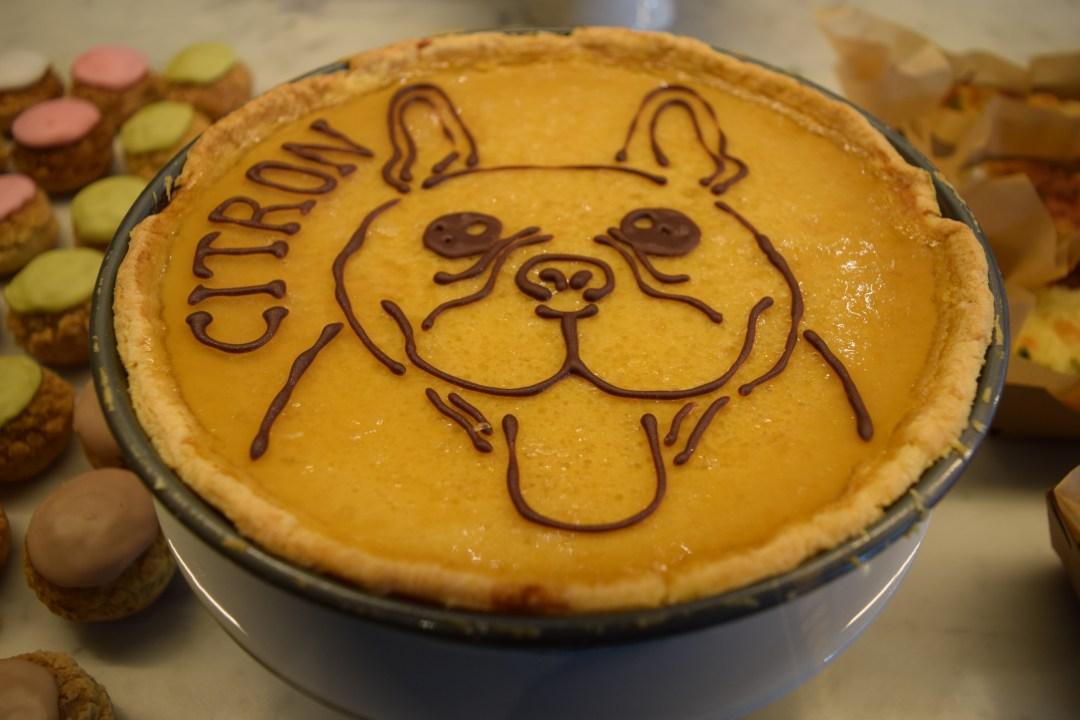 lemon tart, citron tart at Citron Minami Aoyama