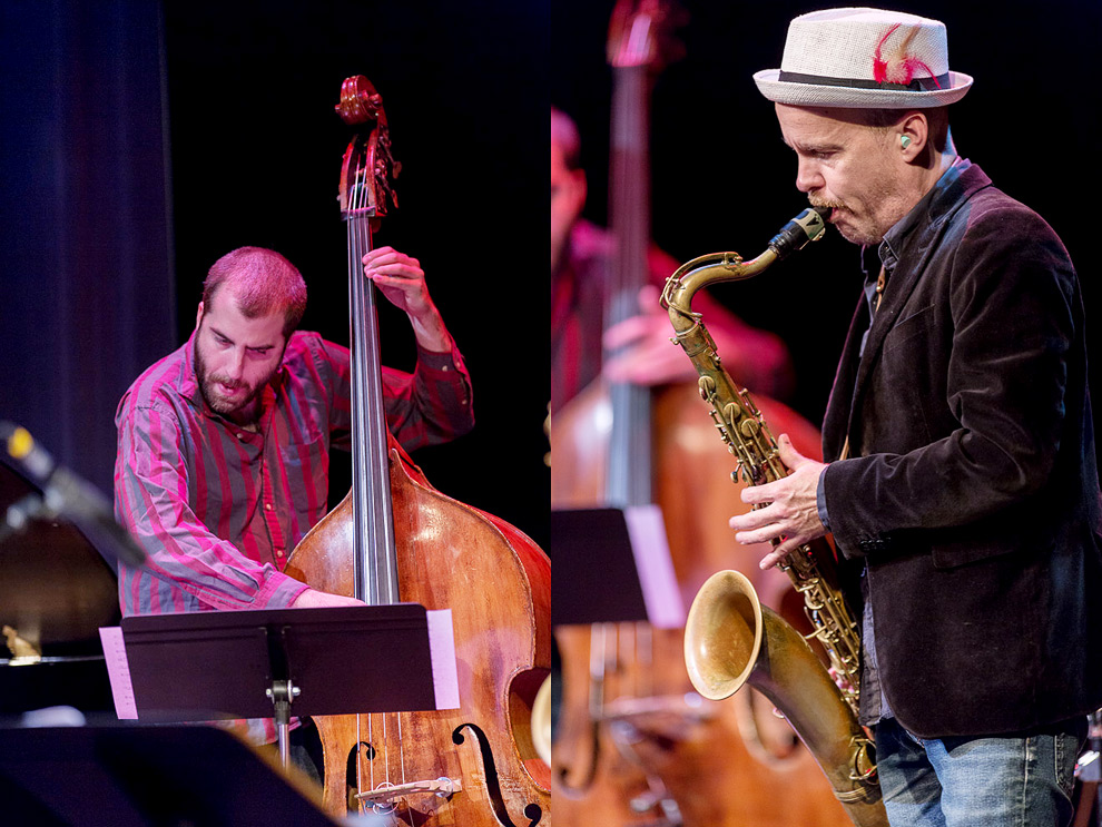 John Hollenbeck Cludia Quintet plays at the 2013 Earshot Jazz Festival