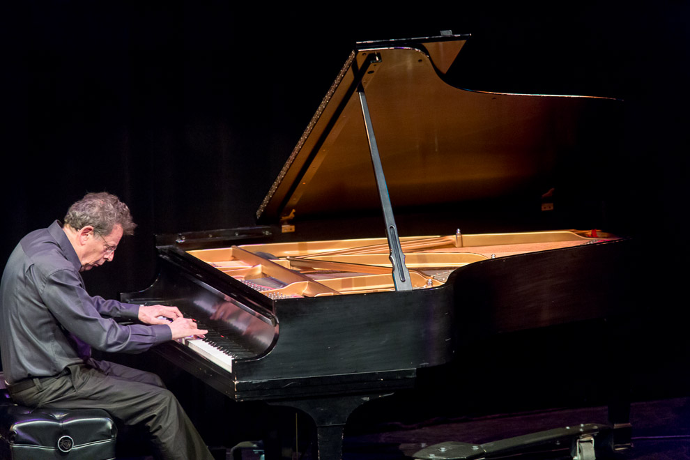 Phillip Glass in performance at Earshot Jazz Festival