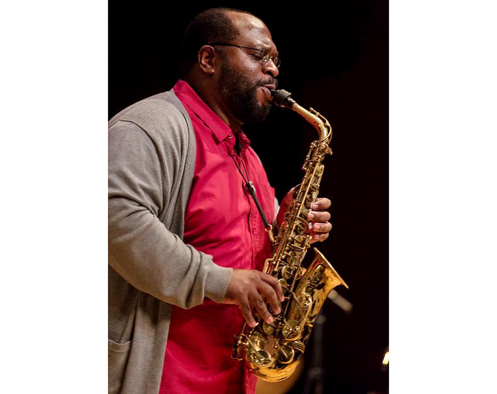 Jazz photographer Daniel Sheehan photos of Darius Jones and Tarbaby