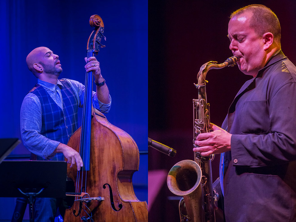 Jazz photography of Eric Revis