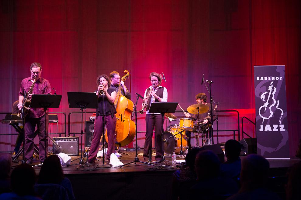 Jazz photography at the 2014 Earshot Jazz Festival Kate Olson