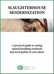 Slaughterhouse Modernisation Manual