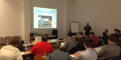 25.02.2016 Training course given to road inspectors in Eger, Hungary
