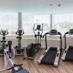 Fitness training equipment inside the private gym in Umhlanga