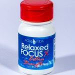 Bottle of Relaxed Focus Extra Strength from Agua e Vida in Groenkloof Pretoria