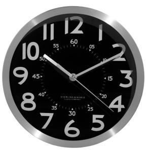 Hidden Spy Camera Video Recorder Wall Clock-0