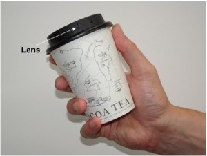 Coffee Cup Concealed Security Camera with HD Video Recorder-2591