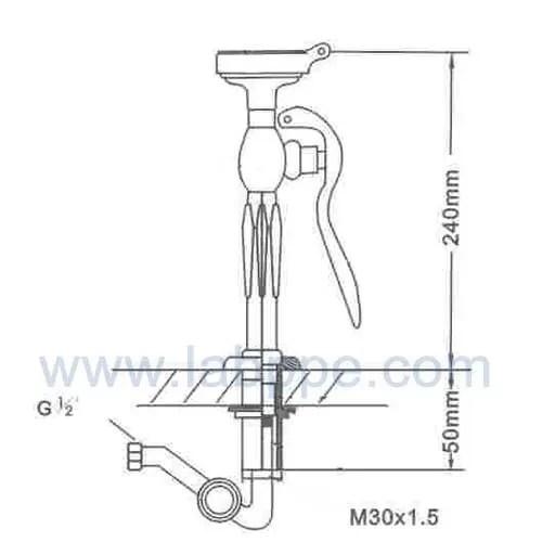 sh755a1 emergency eye wash eye wash station safety shower brass sprayer faucet mounted eyewash drench shower